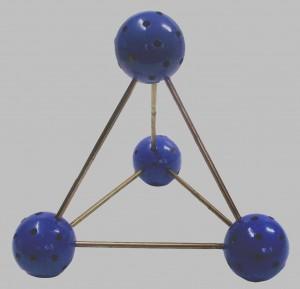 тетраедът