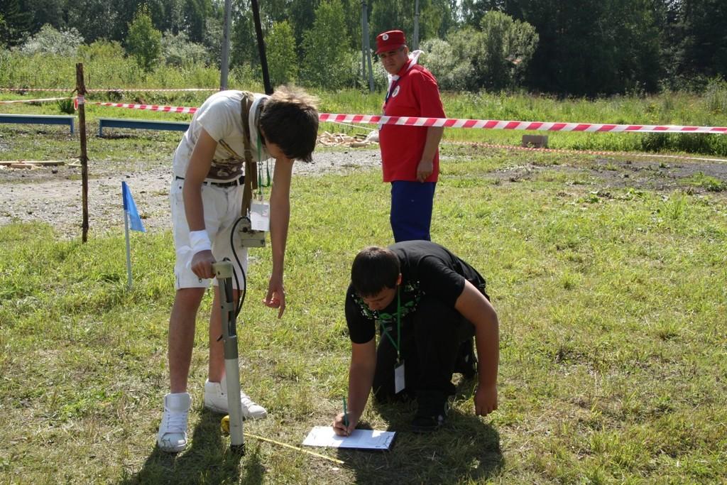 2011 Ученици от Асеновград на Олимпиада по геология в Русия, Radioaktiven fon