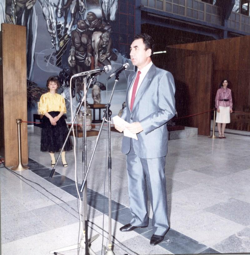 Otkrivane na museja G Yordanov